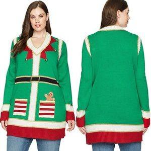 Blizzard Bay Crew Neck Elf Sweater Tunic